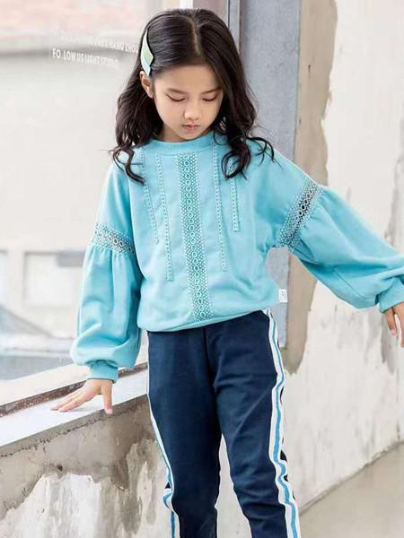 宾果童话童装品牌2021春夏长袖毛衣