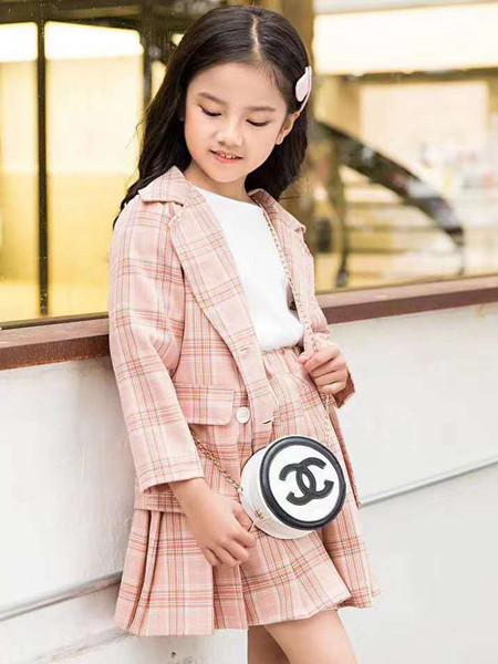 宾果童话童装品牌2021春夏套装公主