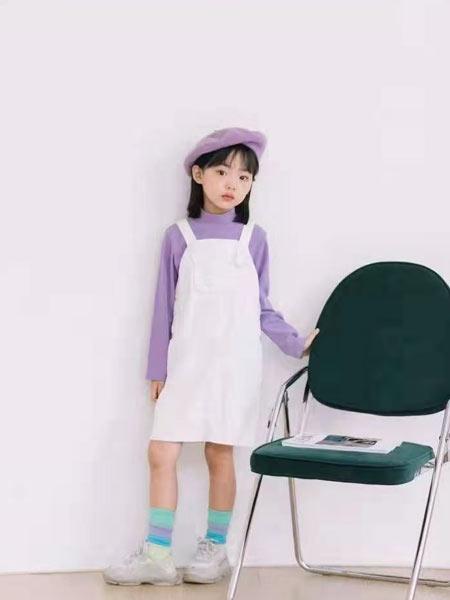 小嗨皮童装品牌2021春夏吊带裙