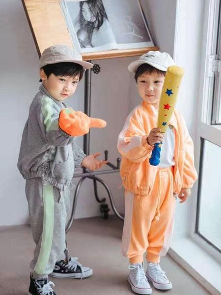小嗨皮童装品牌2021春夏潮童运动服