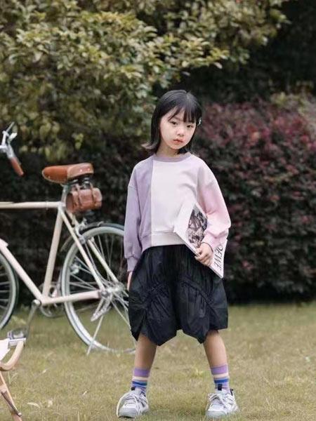 小嗨皮童装品牌2021春夏不规则上衣