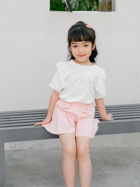小猪宾果童装品牌2021春夏短款