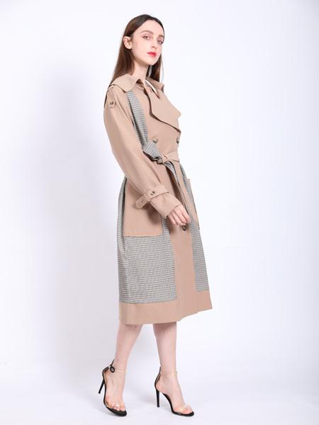 SASLAX莎斯莱思女装品牌2021春夏气质风衣