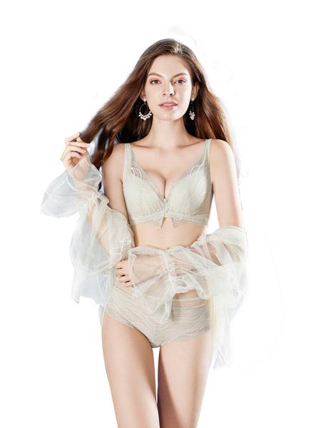 女人心内衣品牌2021春夏刺绣内衣调整型内衣