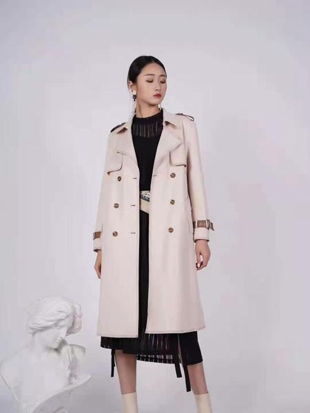 薇薇希女装品牌彩38平台2021春夏时尚大衣