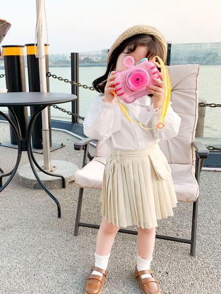 宾果童话童装品牌2021春夏小清新套裙