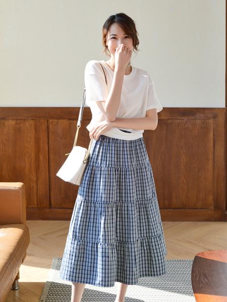 你即永恒女装品牌彩38平台2021春夏文艺范套裙