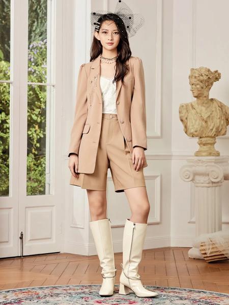 斐格思女装品牌2021春夏时尚肤色套装
