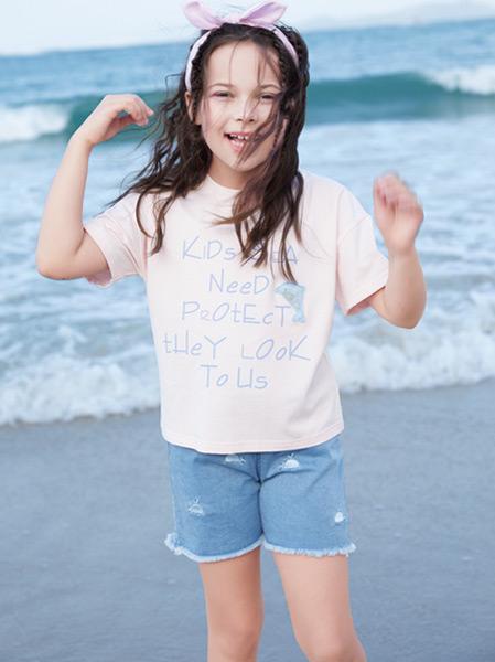 铅笔俱乐部童装品牌2021春夏户外短款套装