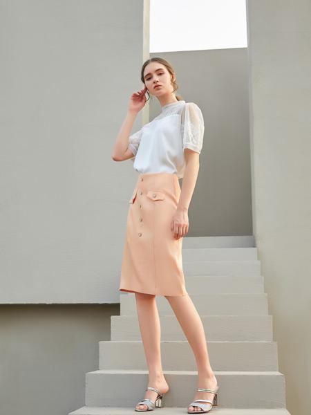 金蝶茜妮女装品牌彩38平台2021春夏时尚套裙