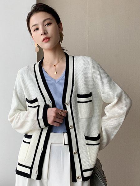 珂希莉女装品牌2021春夏针织外套
