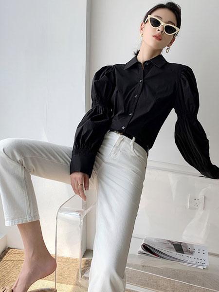 珂希莉女装品牌2021春夏通勤套装