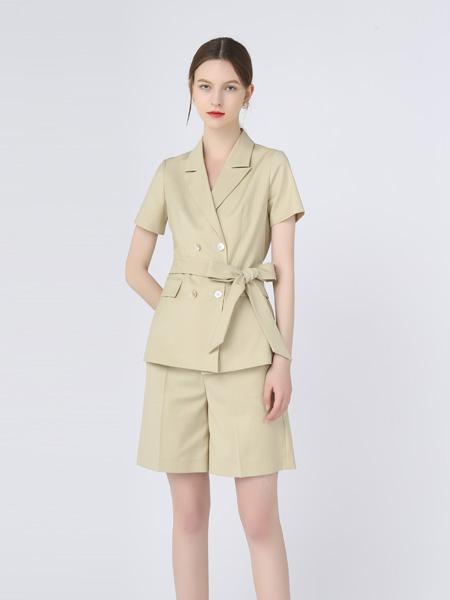 红凯贝尔女装品牌2021春夏短款商务套装