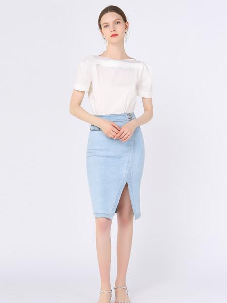 红凯贝尔女装品牌2021春夏百搭套裙
