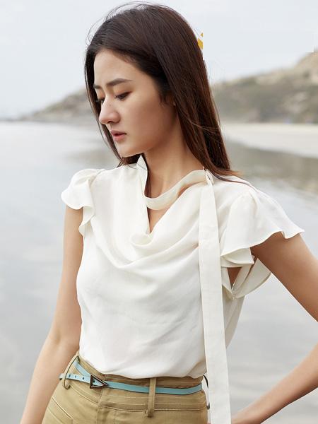 E+vonuol我的私人衣橱女装品牌2021春夏时尚上衣