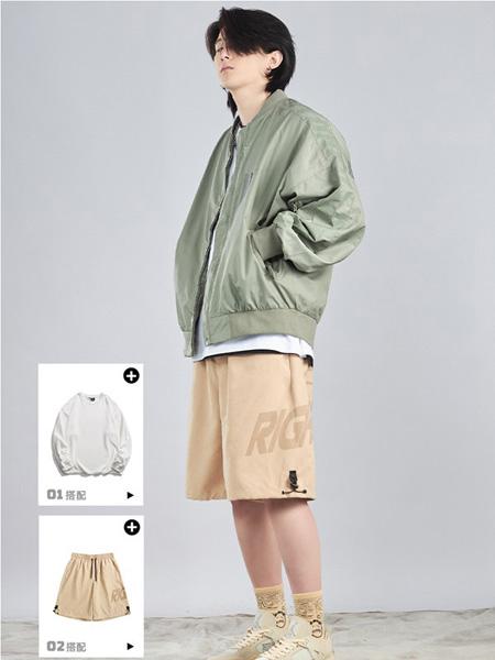 FORHUG男装品牌2021春夏棒球服外套