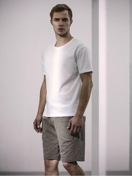 FARMER TEA HOMME男装品牌2021春夏白色T恤