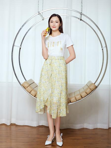 芝仪女装品牌2021春夏甜美套裙