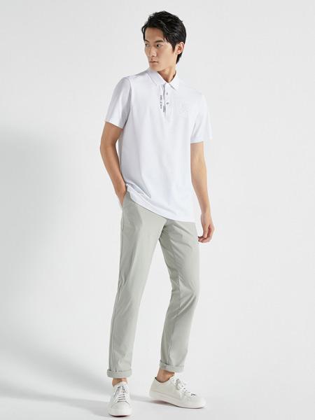 劲霸K-BOXING男装品牌2021春夏白衬衫