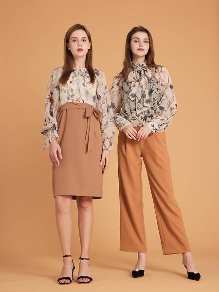 集嫻女裝品牌2021春夏氣質半身裙