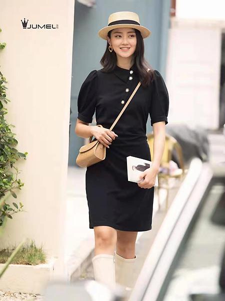 芮玛女装品牌2021春夏休闲时尚连衣裙
