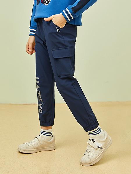 HAZZYS男装品牌2021春夏韩式长裤