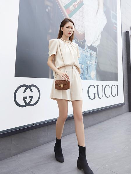 E+vonuol我的私人衣橱女装品牌2021夏时尚百搭半身短裙