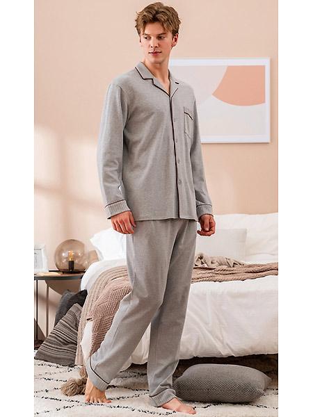 非常曲线内衣品牌2021春夏翻领睡衣套