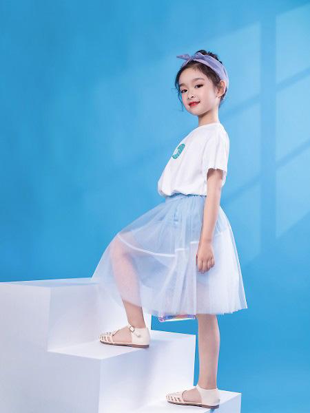 棉绘童装品牌2021春夏宽松百搭上衣
