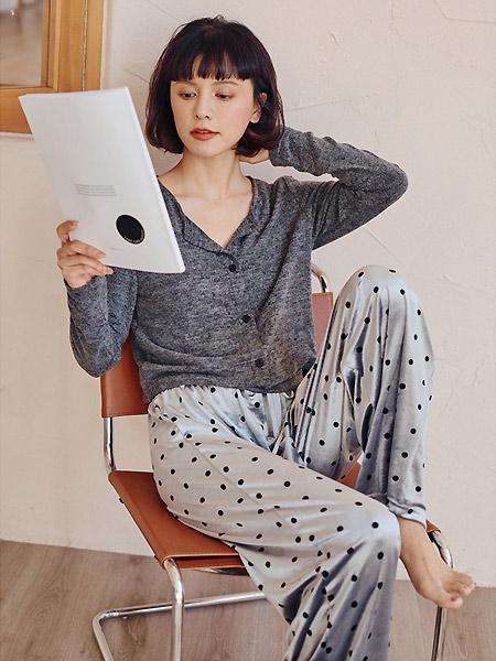 卜奈内衣品牌2021春夏长裤睡衣套装