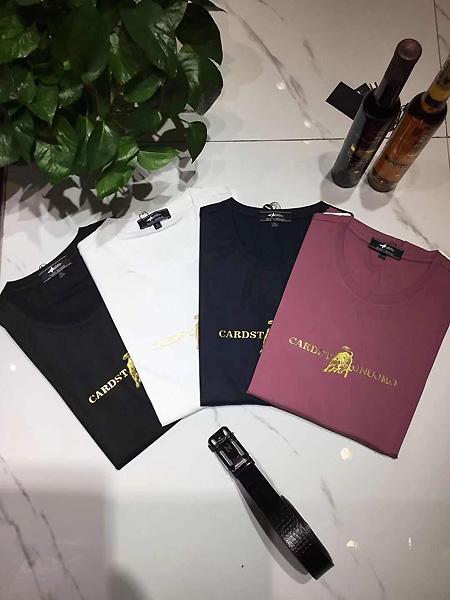 萨卡罗S.ALCAR男装品牌2021春夏时尚简约风T恤