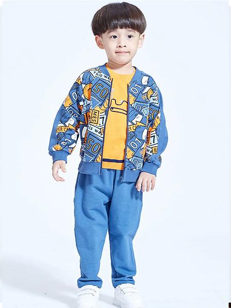 蒙蒙摩米 mesamis男装品牌2021春潮童外套