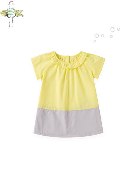 蒙蒙摩米 mesamis童装品牌2021夏季甜美运动风上衣