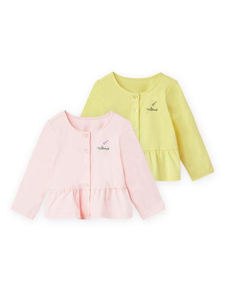 蒙蒙摩米 mesamis童装品牌2021夏季甜美排扣外套