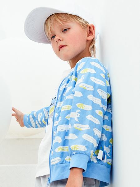 蒙蒙摩米 mesamis童装品牌2021夏季卡通海底生物外套