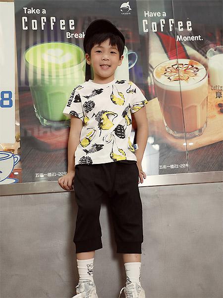 蒙蒙摩米 mesamis童装品牌2021夏季潮童上衣