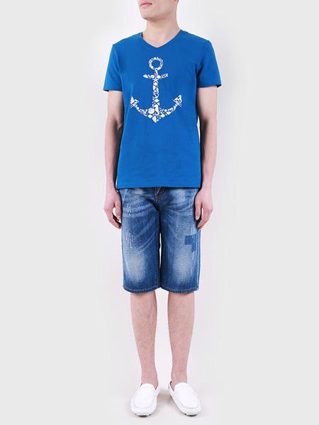 2021夏季蓝色T恤
