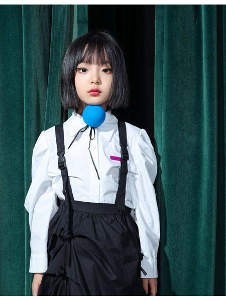 朴与素童装品牌2021春夏洋气背带裤