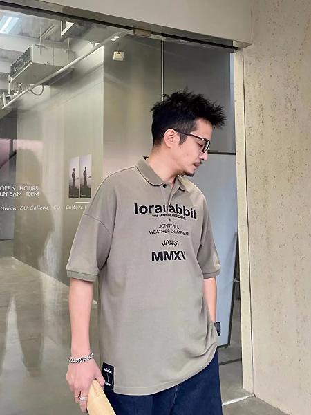CKSK男装品牌2021夏季翻领宽松T恤
