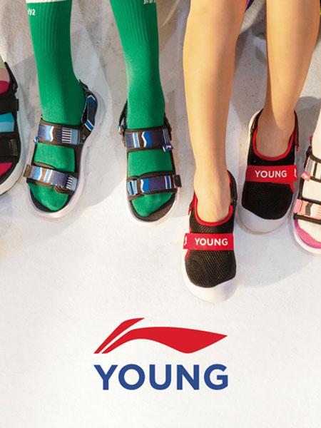 李宁运动装品牌2021春夏透气运动凉鞋