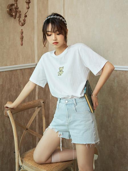 谜秀女装品牌2021夏季韩版宽松显瘦百搭时尚网红上衣