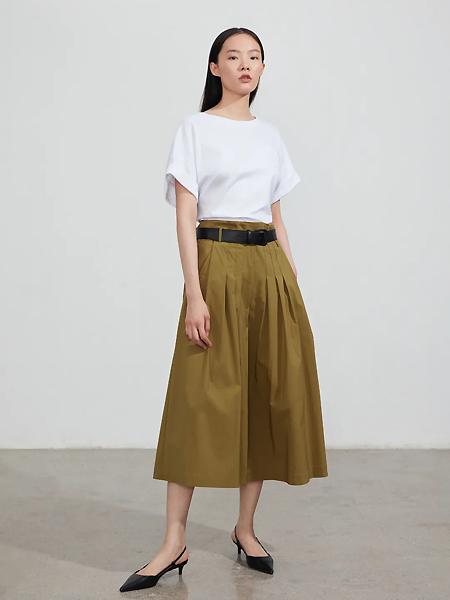 EXCHANGEYOURMOOD女装品牌2021夏季纯色时尚百搭上衣