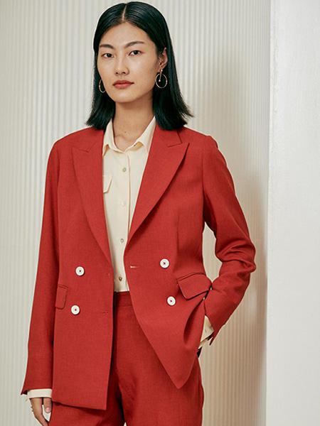 埃沃定制女装品牌彩38平台2021春夏个性西装外套