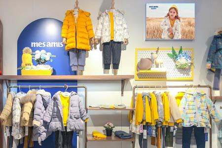 蒙蒙摩米 mesamis品牌店铺展示
