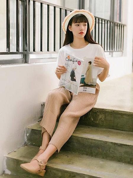MUZE 沐沢女装品牌2021春夏百搭白色上衣