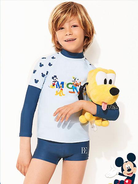 范德安泳衣品牌2021夏季分体游泳衣儿童长袖防晒