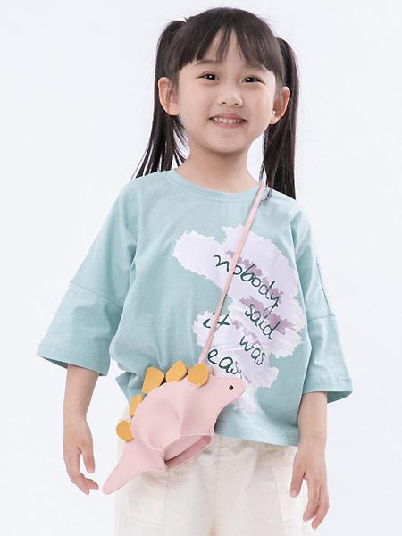 棉绘童装品牌2021夏季儿童可爱印花短袖t恤时尚洋气甜美童装潮