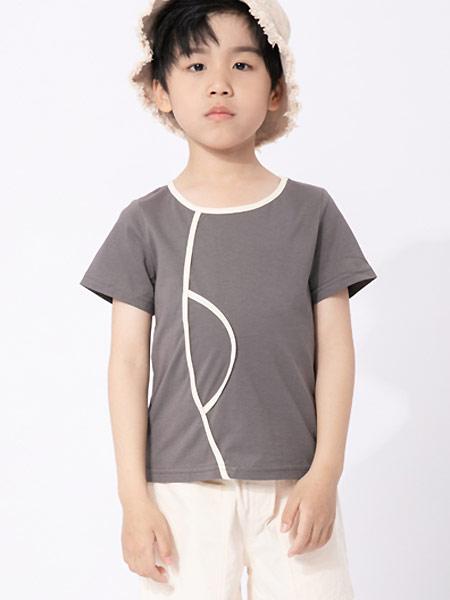 棉繪童裝品牌2021夏季休閑修身舒適透氣陽光帥氣百搭T恤