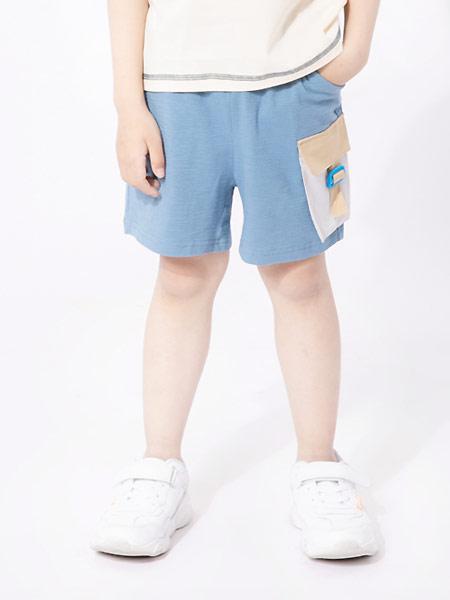 棉绘童装品牌2021夏季舒适透气休闲运感十男童短裤