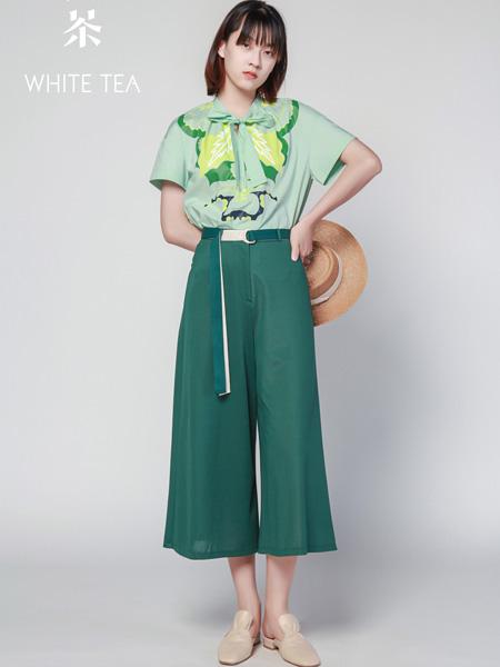 白茶女装品牌2021夏季休闲百搭套装